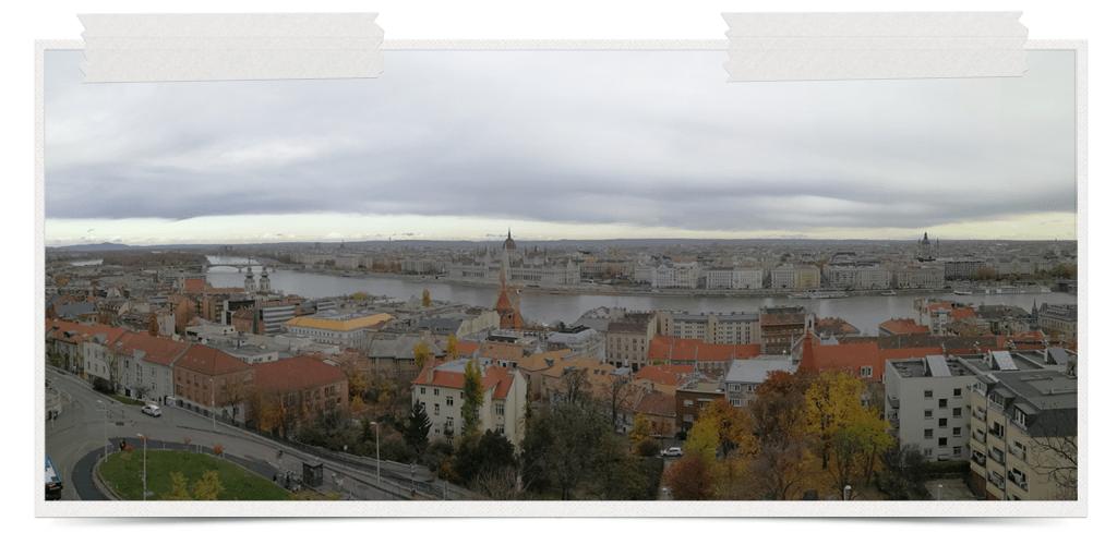 Pogled sa Ribljeg Bastiona