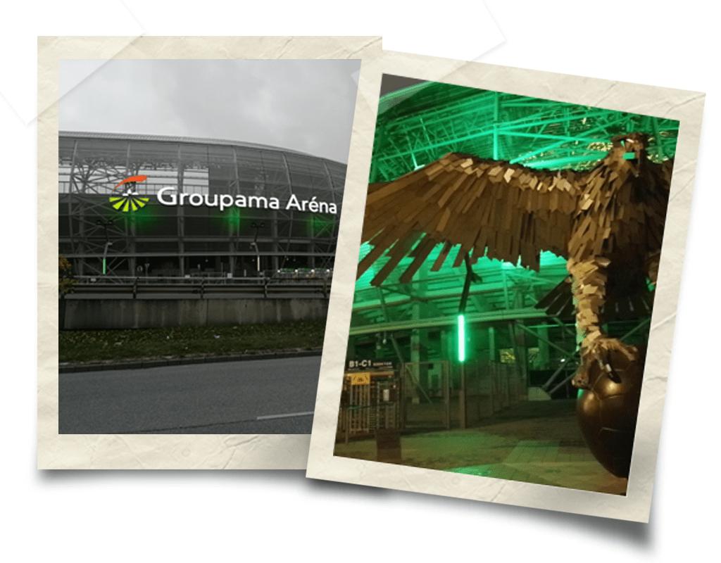 Grupama Arena Budimpešta