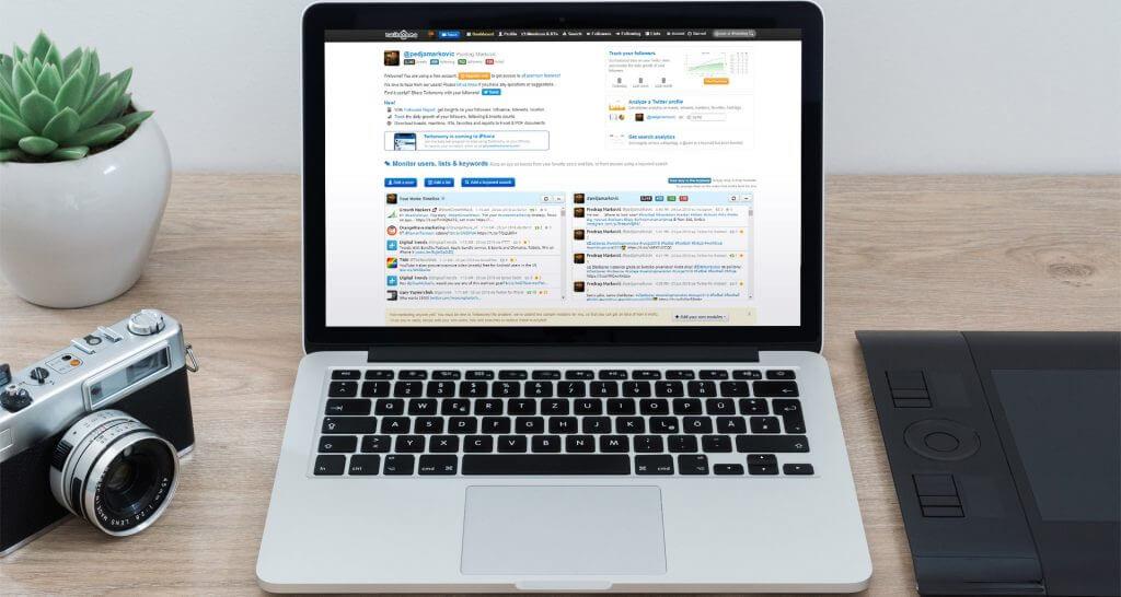Twitonomy - Twitter analitika