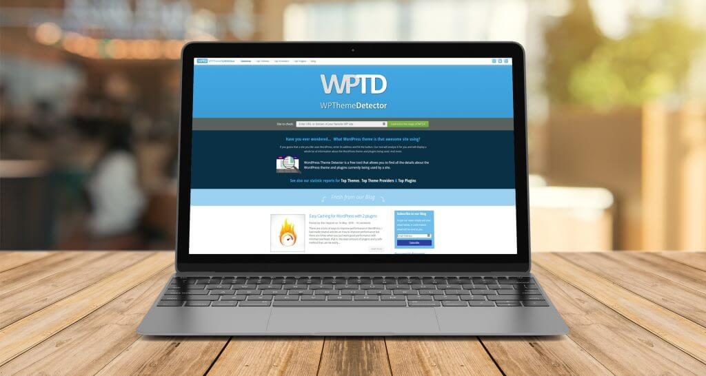 Website WP Theme Detector